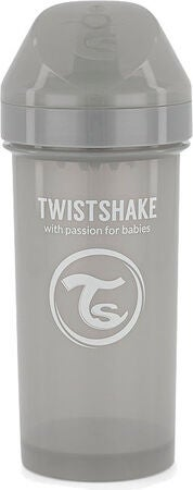 Twistshake Kid Tudekop 360 ml 6+ m, Pastel Grey