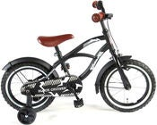 Volare Yipeeh Cruiser Cykel 14 Tommer, Sort