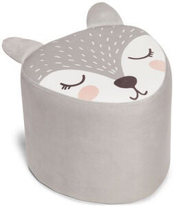 Alice & Fox Puf Fox, Grey