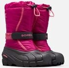 Sorel Youth Flurry Vinterstøvler, Deep Blush/Tropic Pink