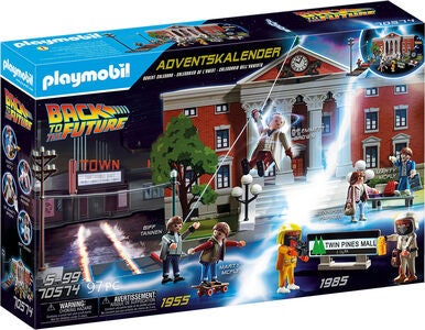 Playmobil 70574 Julekalender Back to the Future