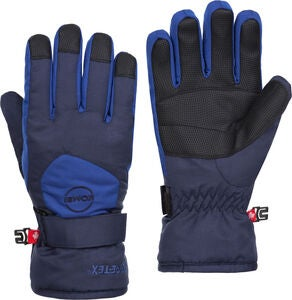 Kombi Ridge GTX Handsker Jr, Black/Nordic Blue