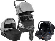 Baby Jogger City Elite 2 Duovogn inkl. Axkid Modukid, Barré