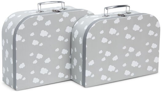 Cloudberry Castle Paptaske 2-pak, Soft Grey