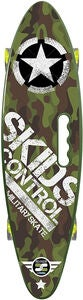 Stamp Skateboard Skids Control, Military
