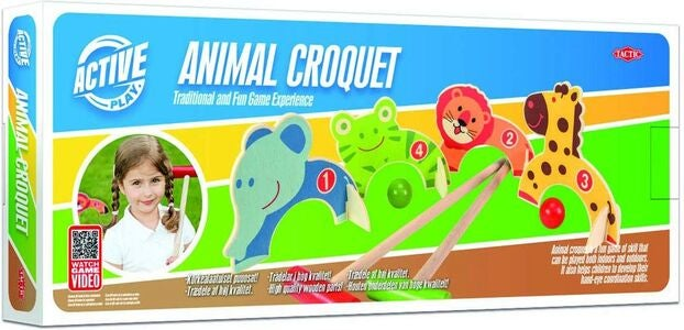 Tactic Croquet Animals