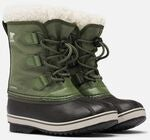 Sorel Youth Pac Nylon Vinterstøvler, Hiker Green
