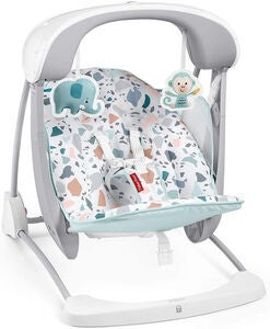 Fisher-Price Pacific Pebble Take-Along Swing & Seat Skråstol