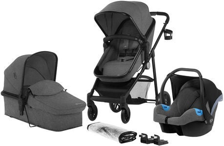 Kinderkraft JULI 3-in-1 Duovogn, Grey