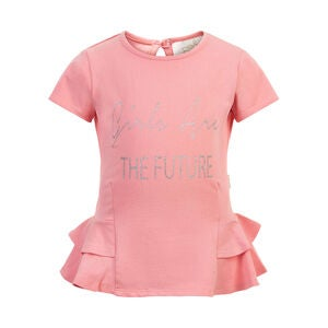 Creamie T-Shirt, Pink Icing