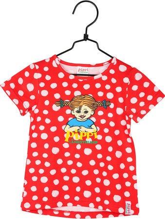 3b4607dd49a5 Køb Pippi Langstrømpe T-Shirt Prikket