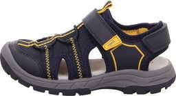 Superfit Tornado Sandaler, Blue/Yellow