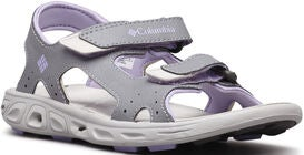 Columbia Youth Techsun Sandaler, Grey/White Violet