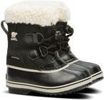 Sorel Youth Pac Nylon Vinterstøvler, Black