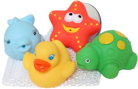PlayGro Bath Squirtees Badelegetøj