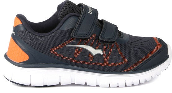 Bagheera Player Sneakers, Navy/Orange