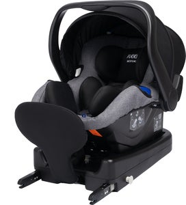 Axkid Modukid Infant Autostol, Grey Inkl. Base