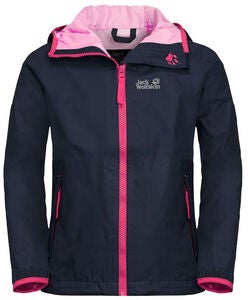 Jack Wolfskin Rainy Days Regnjakke, Midnight Blue