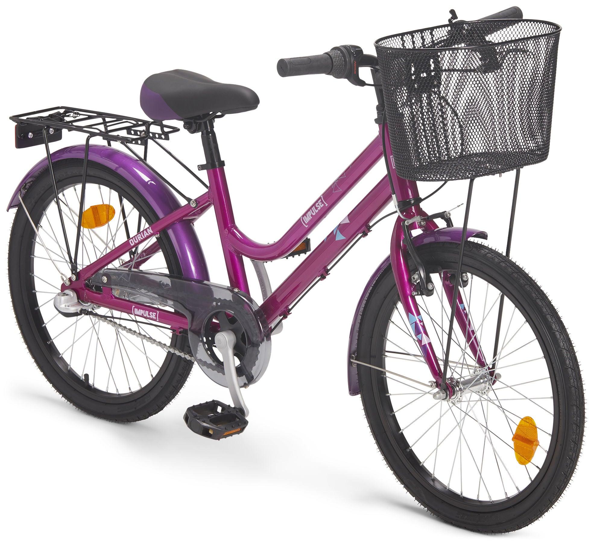 Impulse Premium Durian Juniorcykel 20 Tommer, Pink/Purple | City