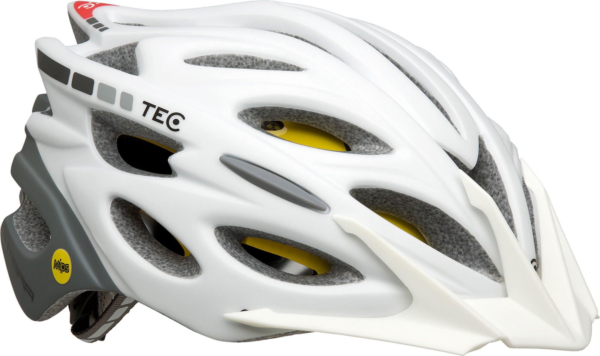 Køb Tec Cykelhjelm Umbra MIPS 50-54 cm, Hvid | Hjelme