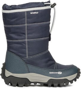 Geox Himalaya WPF Vinterstøvler, Navy/Light Grey