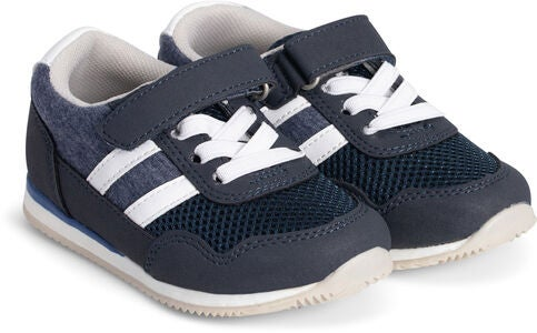 Little Champs Bounce Baby Sneakers, Dark Blue