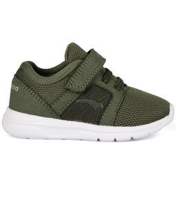 Bagheera Crumb Sneakers, Green/White