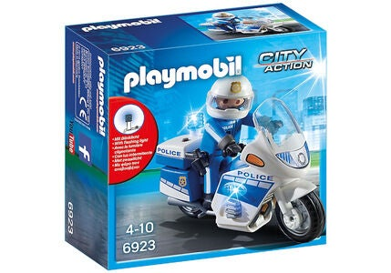 Playmobil 6923 Policebike with LED Light