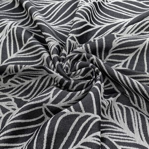 Fidella Baby Wrap Vikle Size 6 Dancing Leaves, Black&White