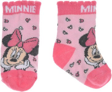 Disney Minnie Mouse Strømper, Light Pink