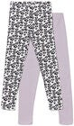 Luca & Lola Venetia Leggings 2-Pak, Purple/White
