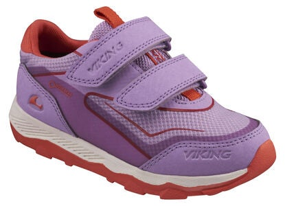 Viking Evanger Low GTX Sneakers, Lavender/Coral