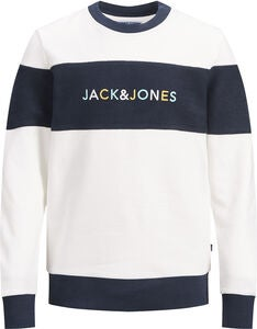 Jack & Jones Albas Trøje, Cloud Dancer