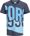 Jack & Jones Lord T-Shirt, Maritime Blue