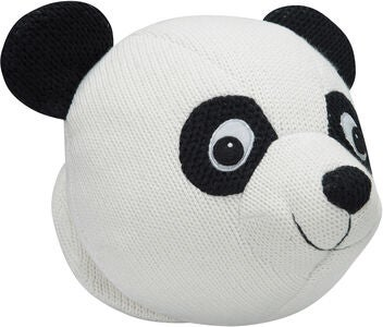 KidsDepot Pandahoved Knitted Panda, Black/White