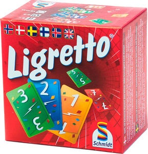Ligretto Red Familiespil