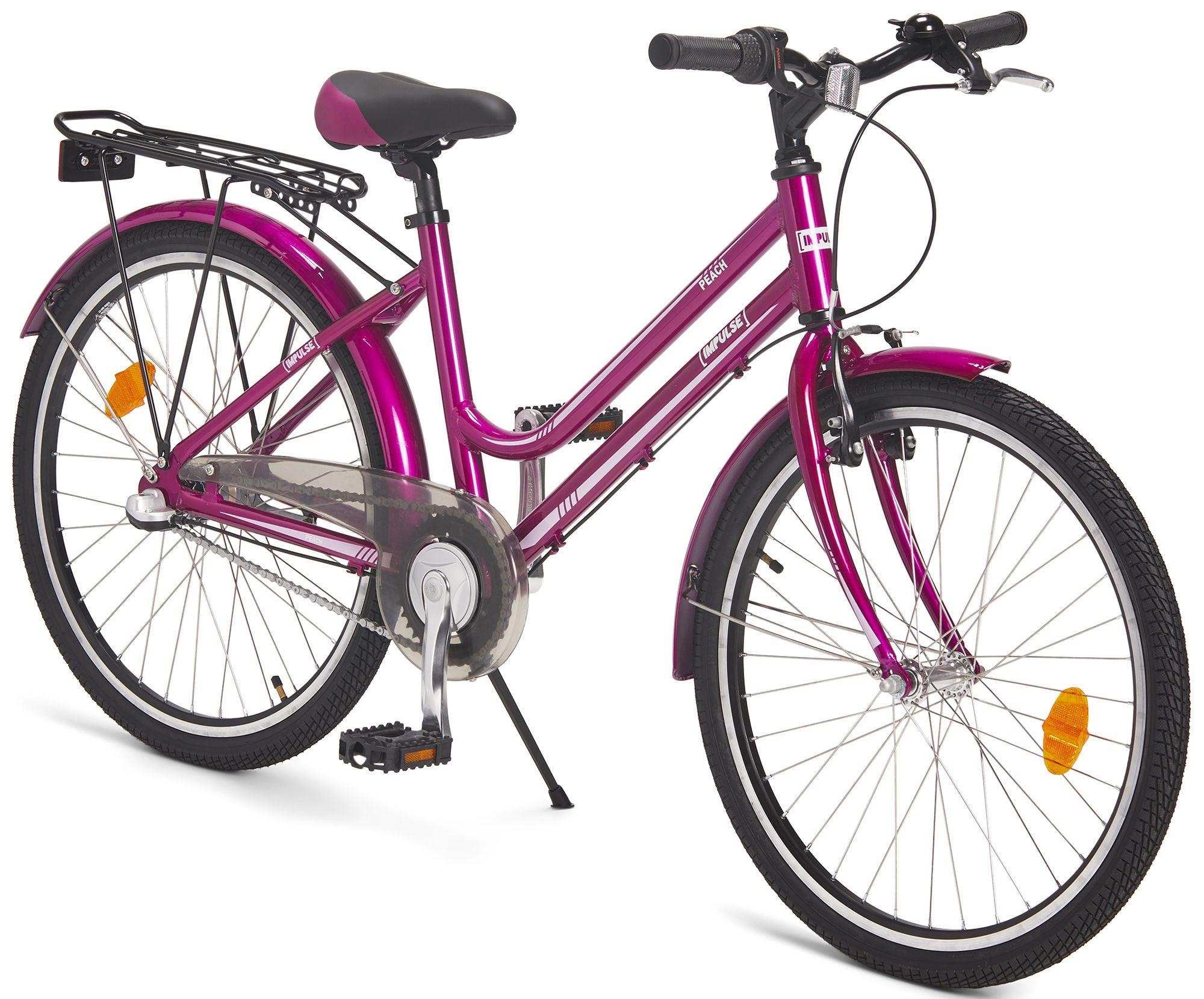 Impulse Premium Peach Juniorcykel 24 Tommer, Pink | City