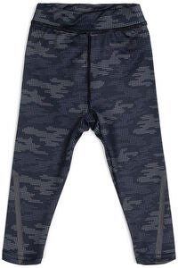 Hyperfied Running Tights, Grey Camo