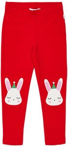 Luca & Lola Leggings Love Xmas, Red