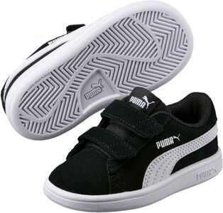 Puma Smash V2 SD V PS Sneakers, Black/White