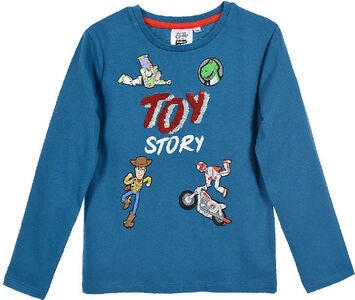 Disney Pixar Toy Story T-Shirt, Turkis