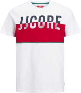 Jack & Jones Viking Crewneck T-Shirt, White