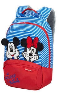 Samsonite Disney Rygsæk 11L, Minnie/Mickey Stripes