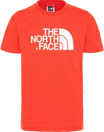 The North Face T-Shirt, Fiery Red/Tnf White