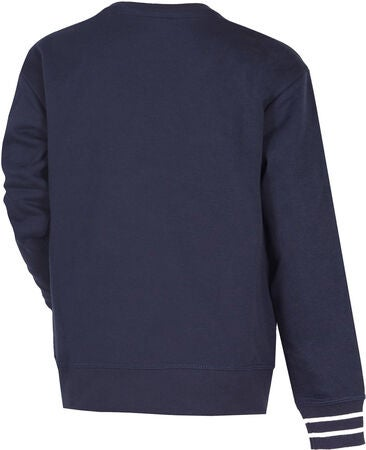 Champion Kids Crewneck Trøje, Sky Captain Blue
