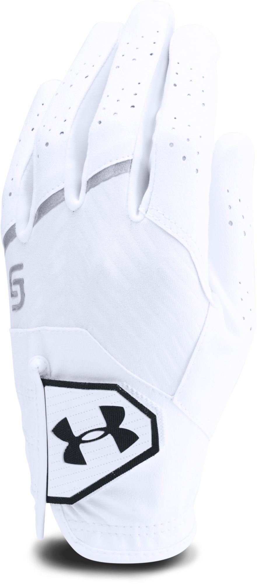 Under Armour Youth Coolswitch Golfhandske Højre, White L