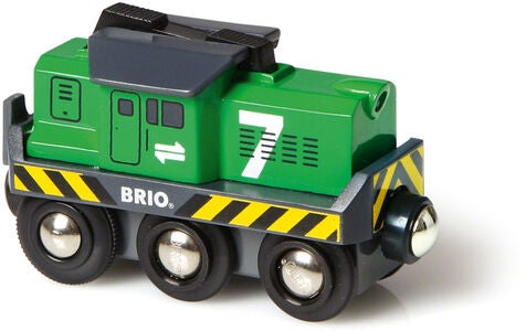 BRIO World 33214 Fragtlokomotiv Batteridrevet
