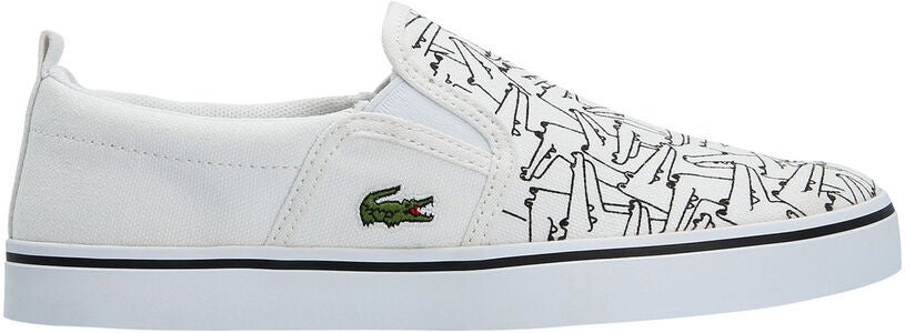 Lacoste Gazon 318 Sneakers, White/Black
