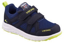 Viking Odda Sneakers, Navy/Lime