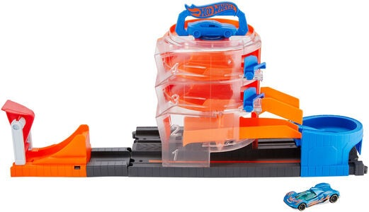 Hot Wheels Legesæt Super Spin Dealership
